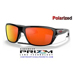 Split Shot Polished Black / Prizm Ruby Polarized (OO9416-25)