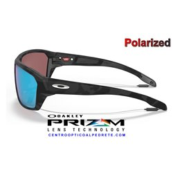 Split Shot Matte Black Camo / Prizm Deep Water Polarized (OO9416-28)