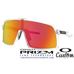 Sutro Custom Polished Clear / Prizm Ruby (OO9406-8939C)