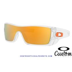 BatWolf Custom Polished Clear / 24K Iridium (OO9101-8941)