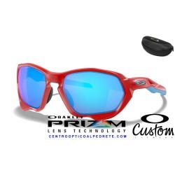 Plazma Custom Matte RedLine / Prizm Sapphire (OO9019-9028)