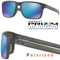 Holbrook Mix Steel / Prizm Sapphire Polarized (OO9384-10)