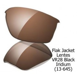 Flak Jacket Lentes VR28 Black Iridium (13-645)