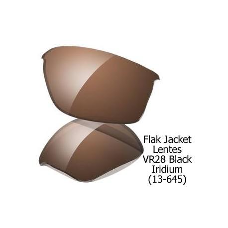 Flak Jacket lens VR28 Black Iridium (13-645)