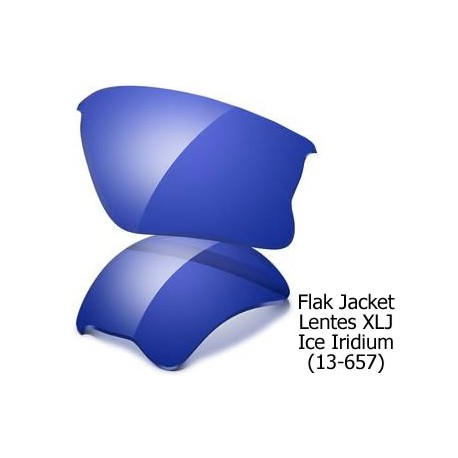 Flak Jacket XLJ lenses Ice Iridium (13-657)