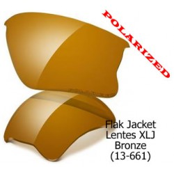 Flak Jacket XLJ lenses Bronze Polarized (13-661)