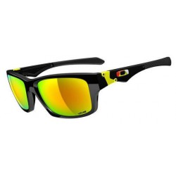 Jupiter Squared Valentino Rossi Polished Black / Fire Iridium (OO9135-11)