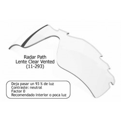 Radar Path Lente Clear Vented (11-293)