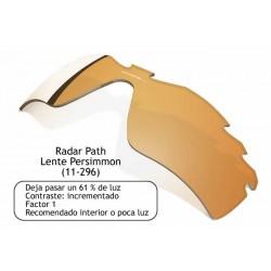 Radar Path lens Persimmon Vented (11-296)