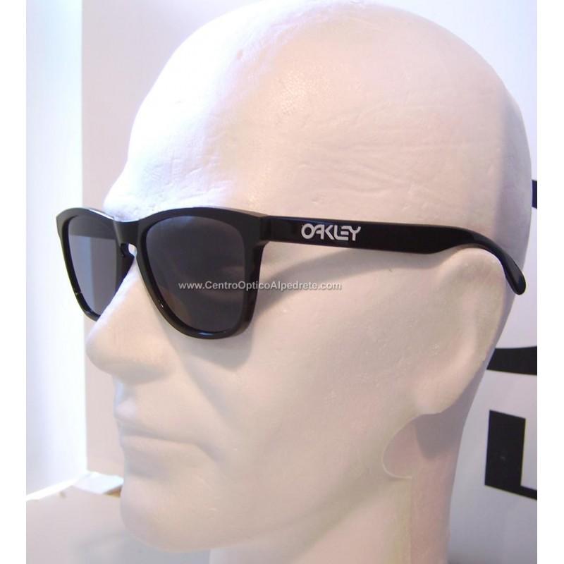 8e4b46f3b Gafa de sol Oakley Frogskin 24-306 negra/gris | Gafas Oakley
