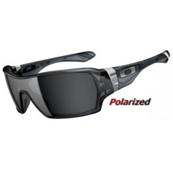 Oakley Offshoot Crystal Black / Black Iridium Polarized (OO9190-05)
