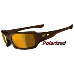 Fives Squared Polished Rootbeer / Bronze Polarized (OO9268-08)