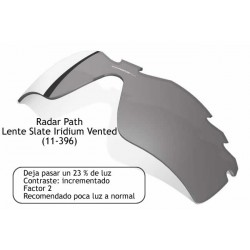 Radar Path Lente Slate Iridium Vented (11-396)
