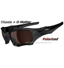 Pit Boss II Polished Black / VR28 Black Iridium Polarized (OO9137-02)