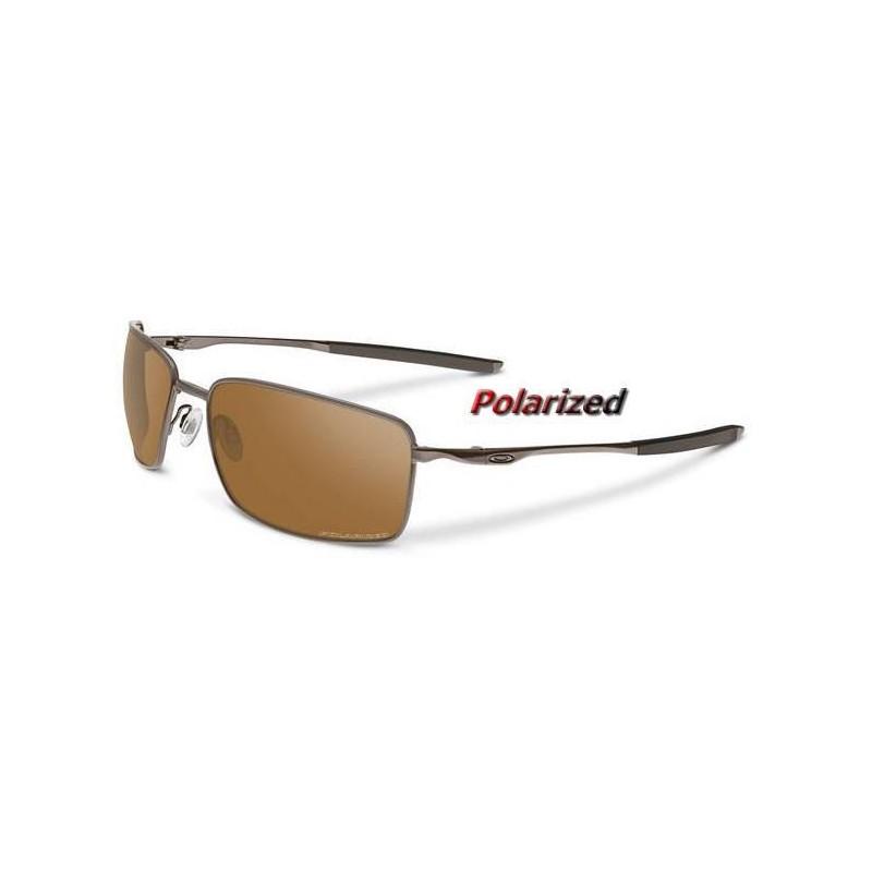 742129ca39 Sunglasses Square Wire Tungsten   Tungsten Iridium Polarized (OO4075 ...