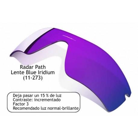 Radar Path lens Blue Iridium (11-273)
