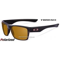 TwoFace Polished Black / Bronze Polarized (OO9189-06)