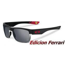 TwoFace Ferrari Matte Black / Black Iridium (OO9189-20)