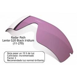 Radar Path Lente G20 Black Irdium (11-270)