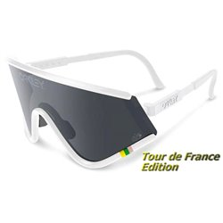 Eyeshade TDF Matte White / Black Iridium (OO9259-04)