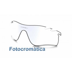 RadarLock Path Lente Clear Black Irdium Photochromic (9181-09L)