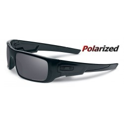 CrankShaft Matte Black / Black Iridium Polarized (OO9239-06)