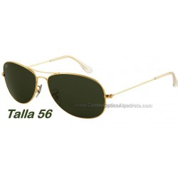 Ray-Ban Cockpit Aviator RB3362 Arista / Crystal Green (001)