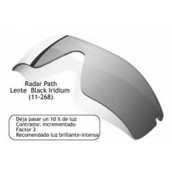 Radar Path lens Black Iridium (11-268)