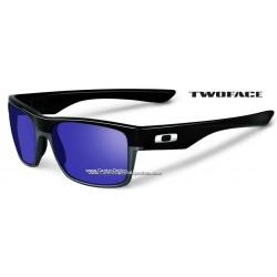 TwoFace Polished Black / Violet Iridium (OO9189-02Custom)