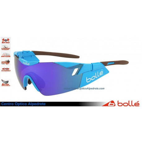 Bolle 6th Sense Shiny Blue/Brown Blue Violet oil AF (11911)