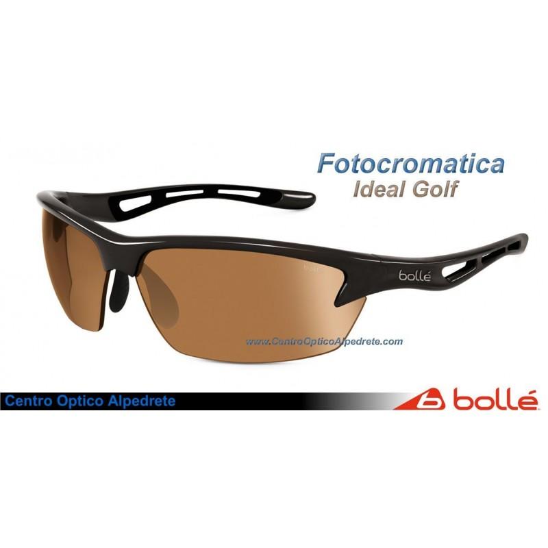 890be85129 Sunglasses Bolle Bolt Shiny Black Modulator V3 Golf oil AF (11520)