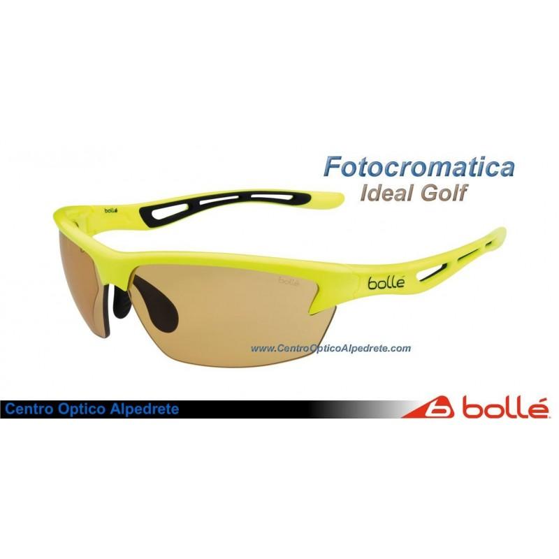 e9760d5192 Gafas de sol Bolle Bolt Neon Yellow Modulator V3 Golf Oleo AF (12007)