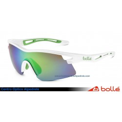 Bolle Vortex Green Edge Shiny White Brown Emerald Oleo AF (11733)