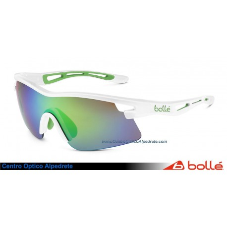 Bolle Vortex Green Edge Shiny White Rose Emerald Oleo AF (11733)