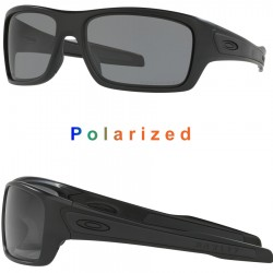 Turbine Polished Black / Grey Polarized (OO9263-07)