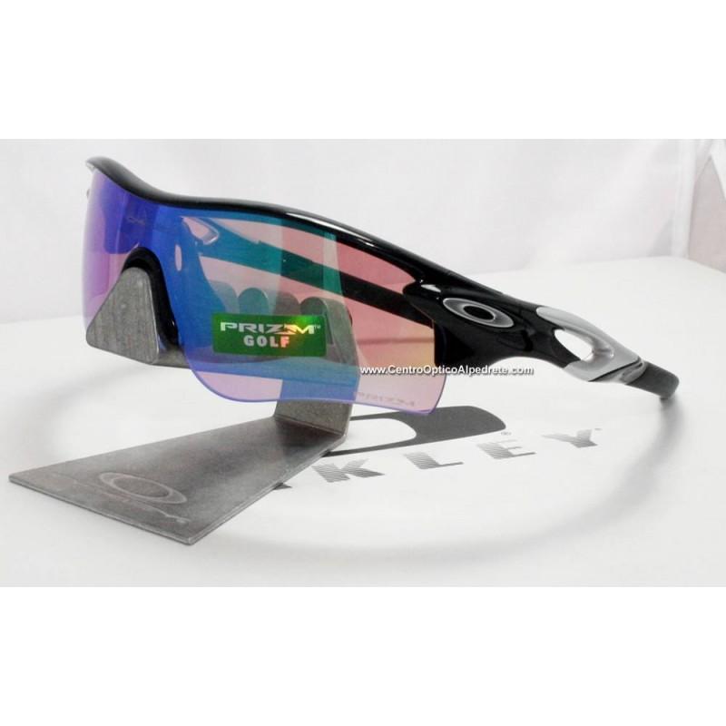 6118114141 ... Jacket Polished Black   Prizm Golf + Slate Iridium Vented (OO9181-42)