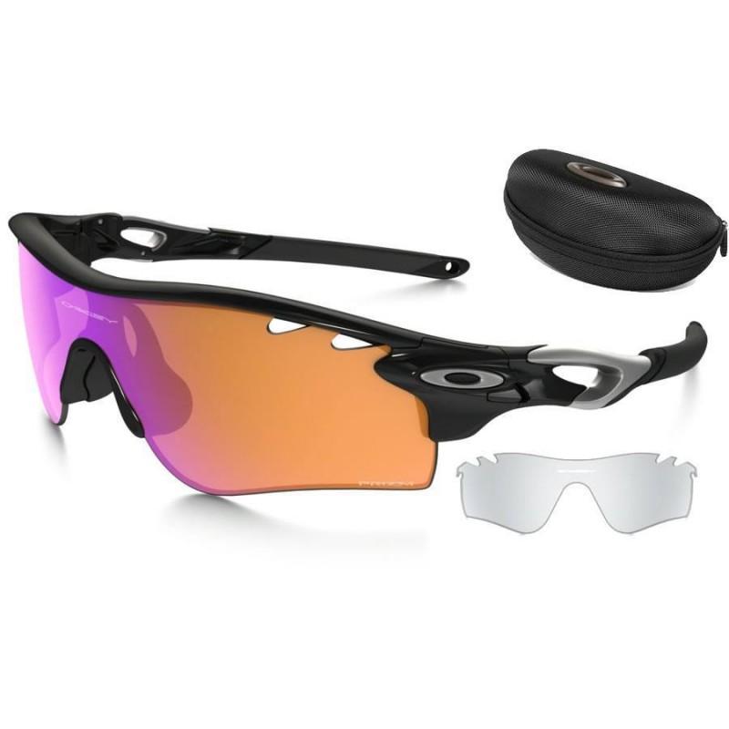 6f559a95d14 Sunglasses Oakley RadarLock Path Polished Black   Prizm Trail + ...