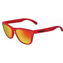 Frogskin B1B Red / Fire Iridium (OO9013-48)