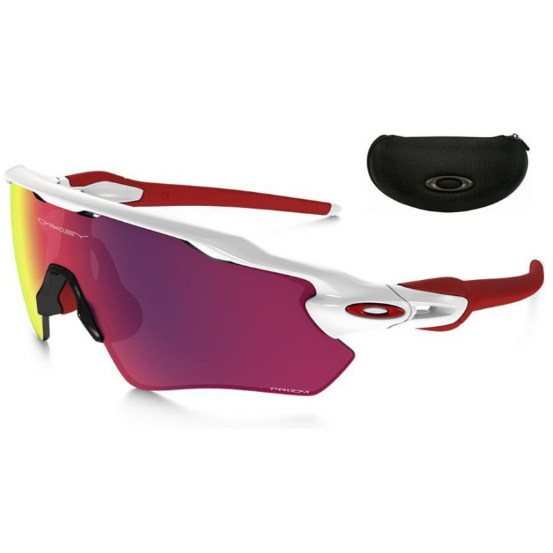 263d9f19f0b Sunglasses Radar EV Path Polished White   Prizm Road (OO9208-05)