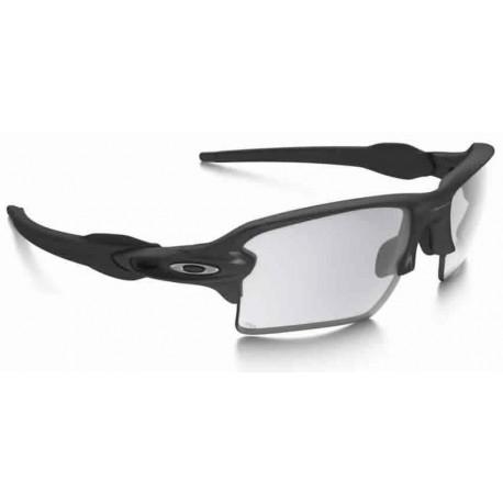 Flak 2.0 XL Steel   Clear Black Iridium Photochromic (OO9188-16) oakley  sport sunglasses e1f42c7ec2