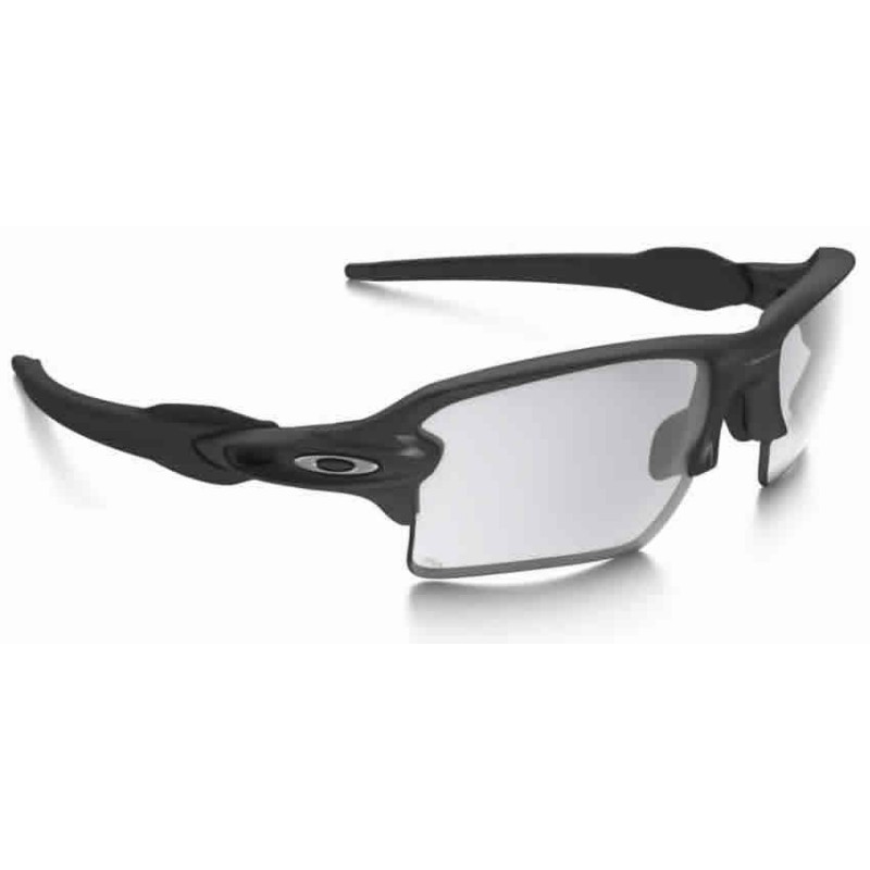fa1a370ba5 Flak 2.0 XL Steel   Clear Black Iridium Photochromic (OO9188-16) oakley  sport sunglasses
