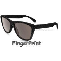 Frogskins FingerPrint Dark Grey / Warm Grey (OO9013-56)