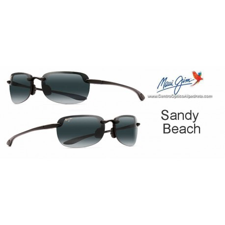 Sandy Beach Negro Brillo / Gris Neutro (408-02)