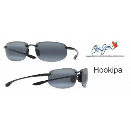 Hookipa Negro Brillo / Gris Neutro (407-02)