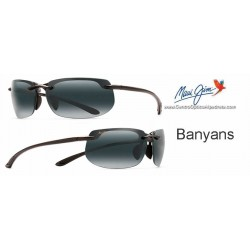 Banyans Negro Brillo / Gris Neutro (412-02)