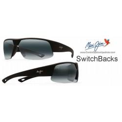 SwitchBacks Negro Mate / Gris Neutro (523-02MR)