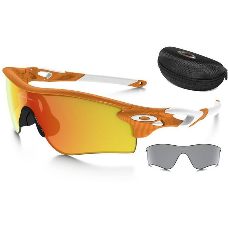 68eec45163 Sunglasses Oakley RadarLock Path FingerPrint Atomic Orange   Fire