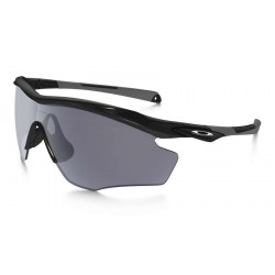 M2 XL Polished Black / Grey (OO9343-01)