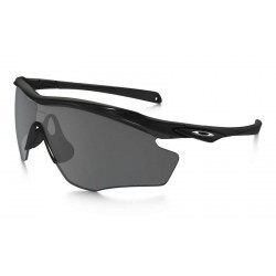 M2 XL Polished Black / Black Iridium Polarized (OO9343-09)