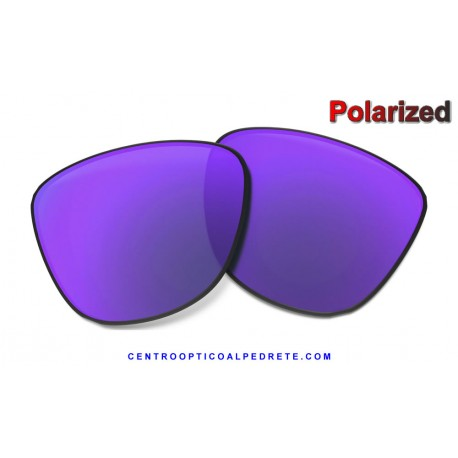 Frogskins Lente Violet Iridium Polarized (42-077)